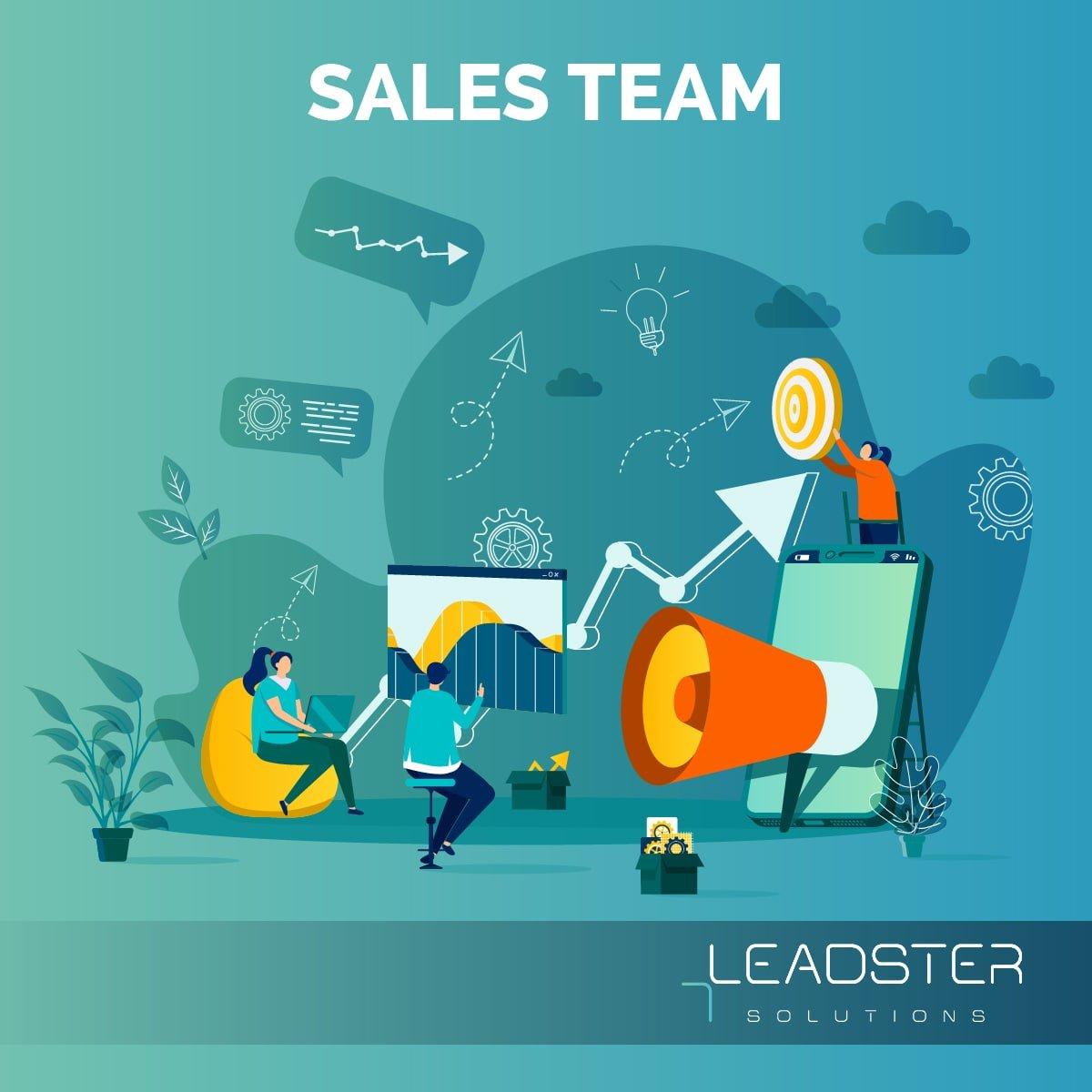 Leadster Sales Team